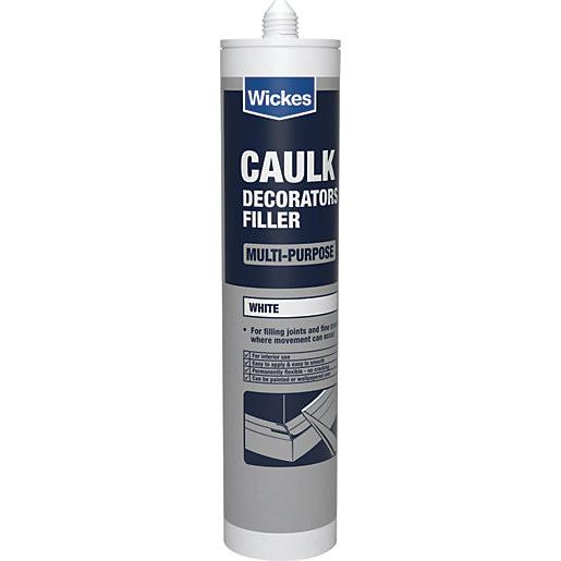 Decorator's Caulk | Fillers, Putty & Caulk | Wickes co uk