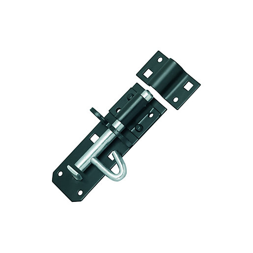 Wickes Brenton Bolt - Black 102mm