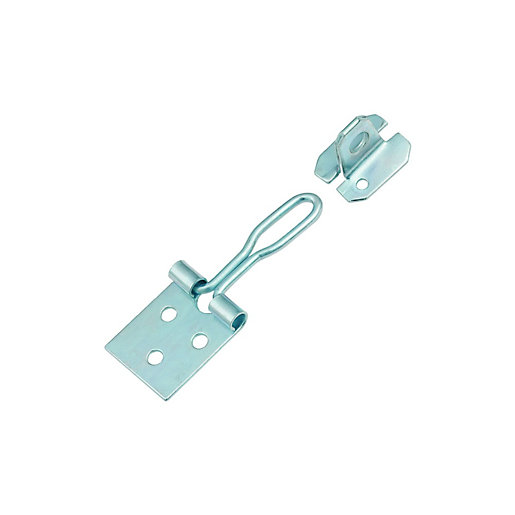 Wickes Wire Hasp and Staple - Zinc 75mm