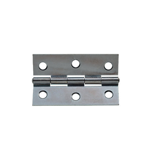 Wickes Butt Hinge - Zinc Plated 76mm Pack