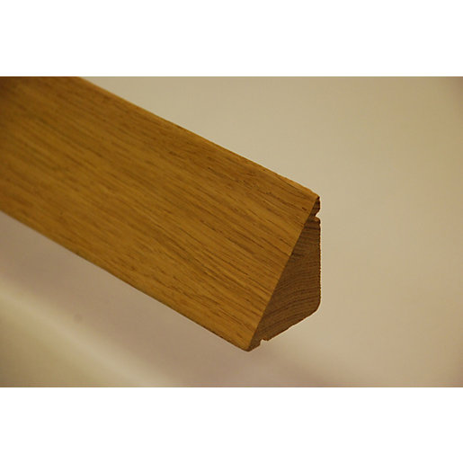 Wickes Oak Veneer Weather Bar  sc 1 st  Wickes : door deflector - pezcame.com