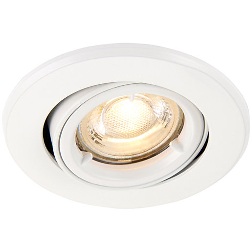 Saxby GU10 Fire Rated Cast Adjustable Downlight -