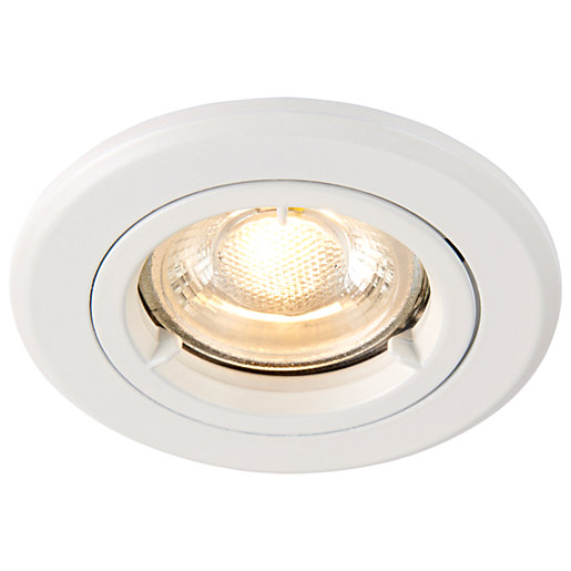 Saxby GU10 Fire Rated Cast Fixed Downlight -