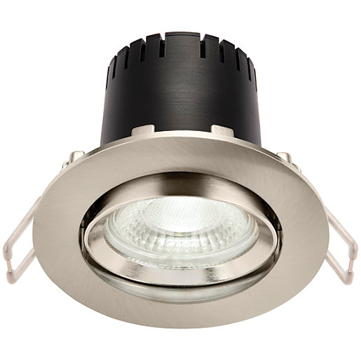 Saxby Integrated LED Adjustable Cool White Dimmable Downlight