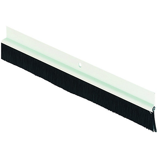 Mouse over image for a closer look.  sc 1 st  Wickes & Wickes Door Brush Draught Excluder White - 838mm | Wickes.co.uk