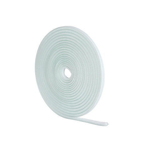 Wickes Pile Tape Draught Seal White - 5m