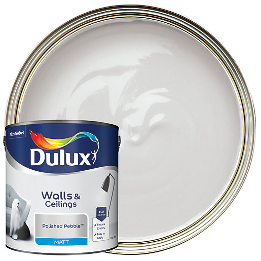 Dulux White Matt Paint L