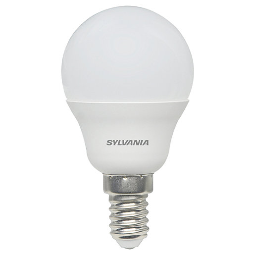 Sylvania LED Frosted E14 Mini-Globe Bulb - 5W