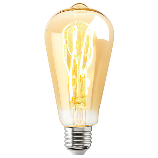 Sylvania LED Non Dimmable Gold Filament Tubular E27