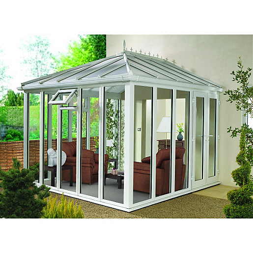 Wickes Edwardian Full Glass Conservatory 8 X 12 Ft Wickes Co Uk