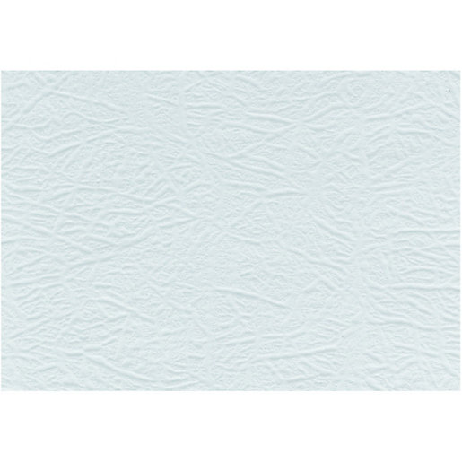 Wickes 9006 Embossed Wallpaper White   10m
