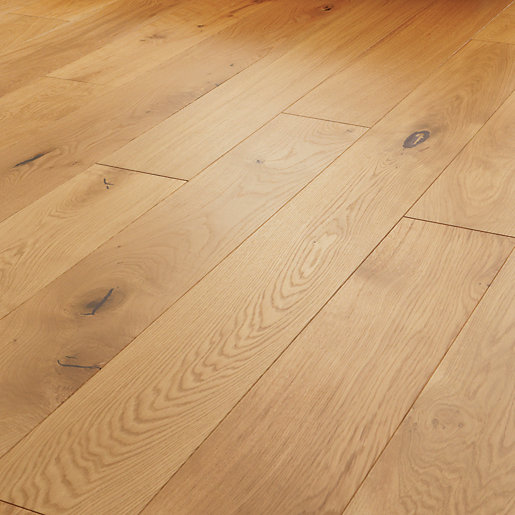 Style Farm Light Oak Engineered Wood Flooring -