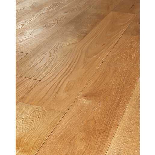 Wickes Sunshine Oak Real Wood Top Layer Engineered Wood