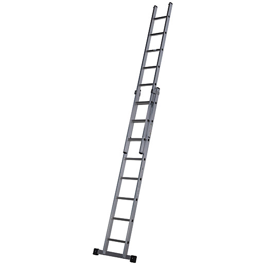 Werner Pro 2 Section Aluminium Extension Ladder
