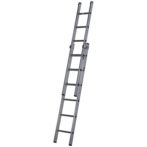 Werner Professional 2.79m 2 Section Aluminium Extension Ladder