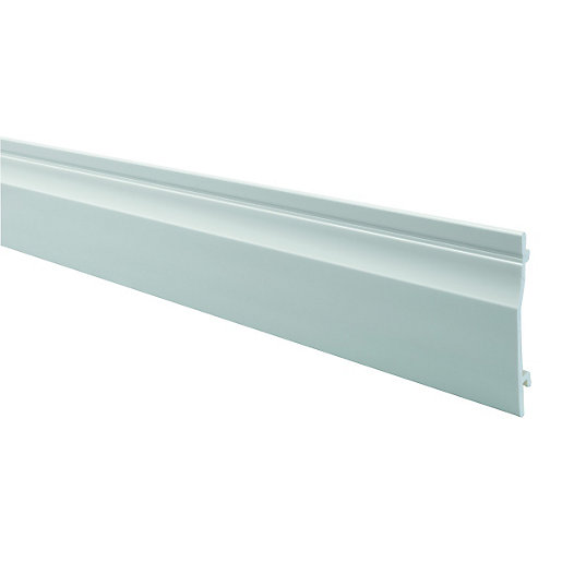 Large Format Exterior Cladding Products : Wickes pvcu shiplap cladding mm