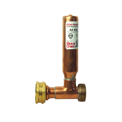 Sioux Chief Appliance Water Hammer Arrester - 3/4in
