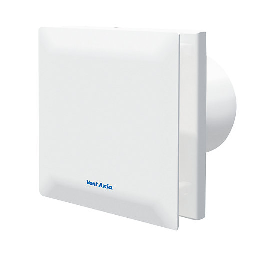 Vent-Axia Silent Bathroom Extractor Fan with Timer