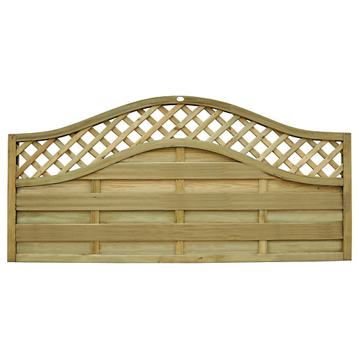 Forest Garden Bristol Fence Panel 6x3ft Multi Packs