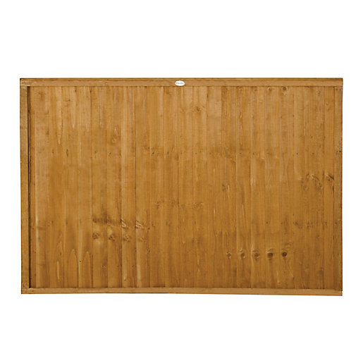 Forest Garden Dip Treated Closeboard Fence Panel -