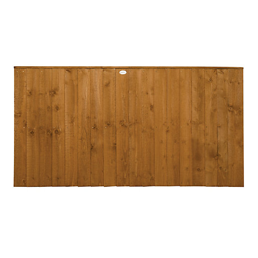 Forest Garden Dip Treated Featheredge Fence Panel -