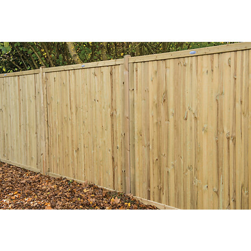 Wickes Acoustic Fence Panel - 6 x 6ft Multi Packs