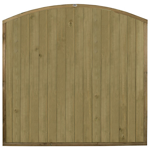 Forest Garden Domed Top Tongue & Groove Fence