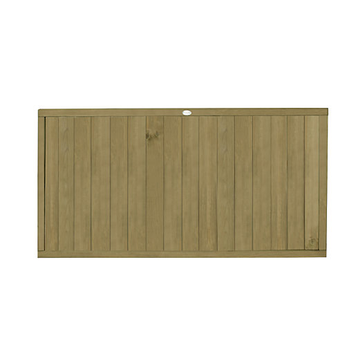 Tongue Groove Vertical Fence Panel