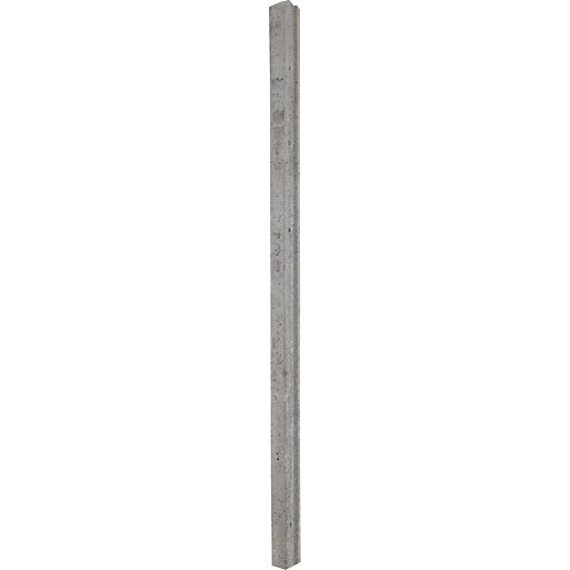 Wickes Slotted Concrete Fence Post 1 8m Wickes Co Uk