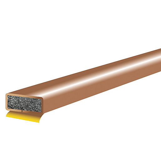 4FireDoors Intumescent Fire Seal - Brown 10 x