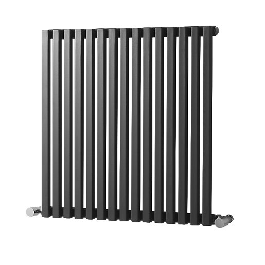 Wickes Grace Multi-Column Designer Radiator - Gunmetal Grey