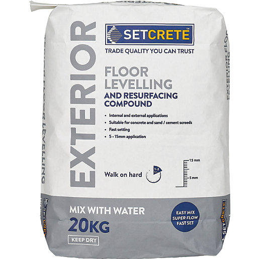 Setcrete Exterior Floor Levelling Compound - 20kg