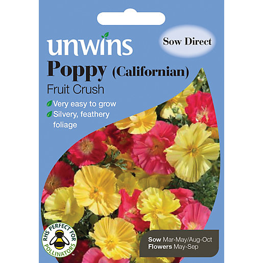 Unwins Californian Fruit Crush Poppy Seeds