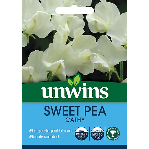 Unwins Cathy Sweet Pea Seeds