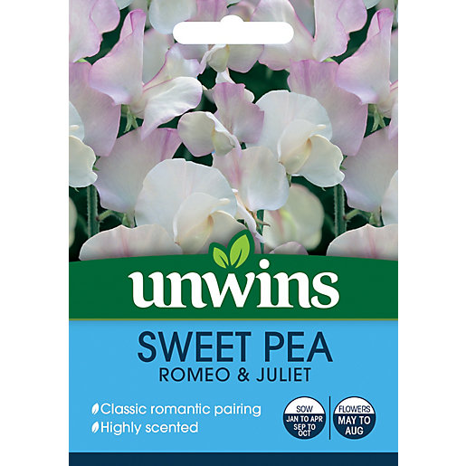 Unwins Romeo & Juliet Sweet Pea Seeds