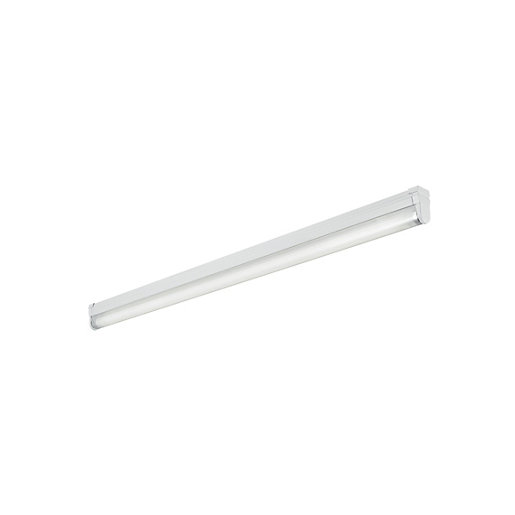 Fluorescent fittings lighting decorating interiors wickes sylvania 4ft fluorescent fitting with tube diffuser 36w g13 aloadofball