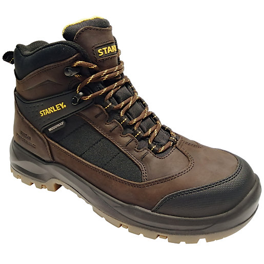 Stanley Yukon Waterproof Safety Boot - Brown