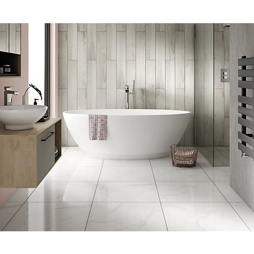 Wickes gabella contemporary freestanding bath 1790mm - Contemporary modern bathroom accessories ...