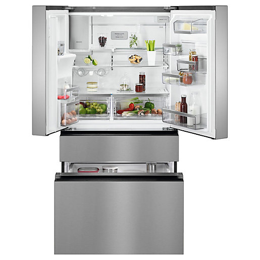AEG Connected Frost Free MultiSwitch American Fridge Freezer