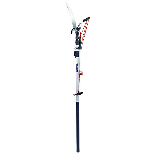 Wickes Telescopic Tree Pruner With 1 5 2 5m Reach