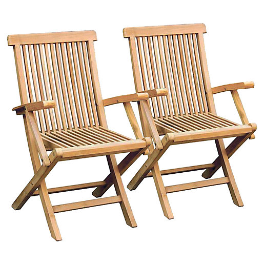 Charles Bentley 1 x Pair Of Teak Wooden