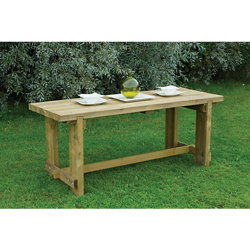 forest garden refectory table. Black Bedroom Furniture Sets. Home Design Ideas