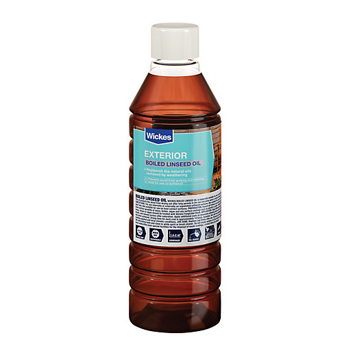 Wickes Boiled Linseed Oil - 500ml