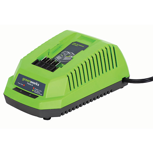 Greenworks 40V Charger with Bs Plug
