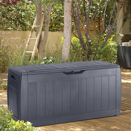 Keter Hollywood Patio Box Anthracite