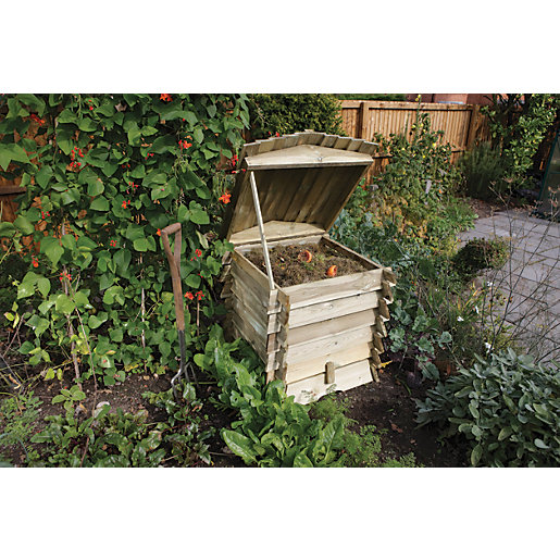 Rowlinson 2 x 2 ft Beehive Timber Garden