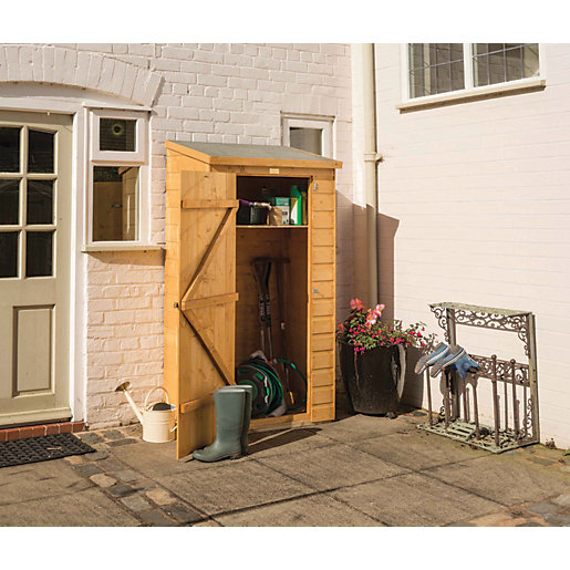 Superieur Rowlinson 6 X 3 Ft Lean To Midi Garden Tool Storage Shed