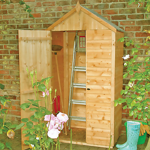 Wickes Shiplap Timber Lean To Garden Tool Storage Shed 3