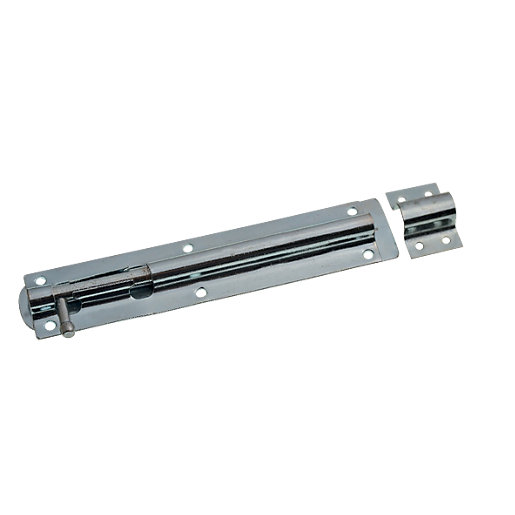 Wickes Tower Bolt Zinc Plated 203mm