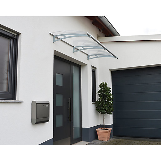 Mouse over image for a closer look.  sc 1 st  Wickes & Palram Aquila 2050 Modern Polycarbonate Door Canopy - 915 x 2055 mm ...